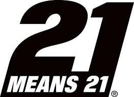 21 means 21 logo
